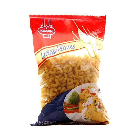 Kolson Large Elbow Macaroni 400gm (4629490139221)