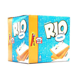 Pack of 6 Peek Freans Rio Vanilla Half Roll