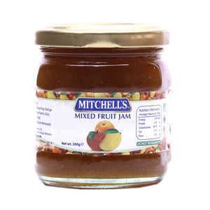 Mitchell's Mixed Fruit Jam 200gm