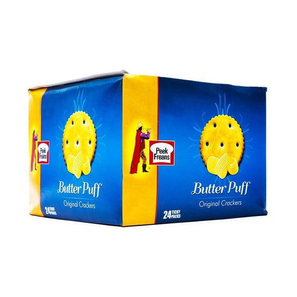 Pack of 24 Peek Freans Butter Puff Ticky Pack