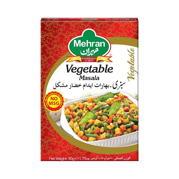 Mehran Vegetable Masala 50gm (4613068718165)