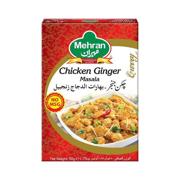 Mehran Chicken Ginger Masala 50gm (4613052891221)