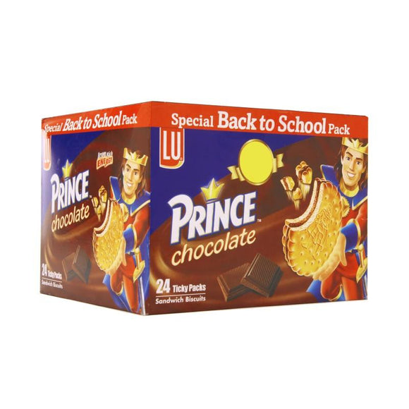 Pack of 24 LU Prince Chocolate Ticky Pack (4611822747733)