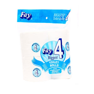 Pack of 4 Fay Toilet Tissue Roll Biggest