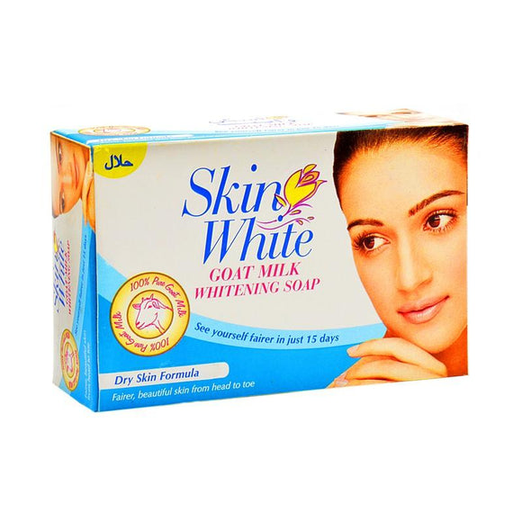 Skin White - Skin White Goat Milk Whitening Soap for Dry Skin - 110gm (4611978264661)