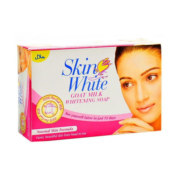 Skin White Goat Milk Whitening Soap for Normal Skin - 110gm (4611977936981)