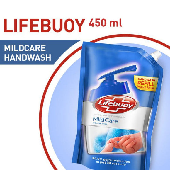 Lifebuoy - Lifebuoy Mild Care Hand Wash - 450ml