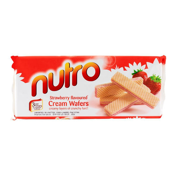 Nutro Strawberry Wafer 150gm
