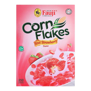Fauji Corn Flakes with Real Strawberry (4631290052693)