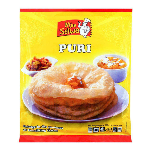 MonSalwa Puri 400g 10 Pieces (4749843464277)