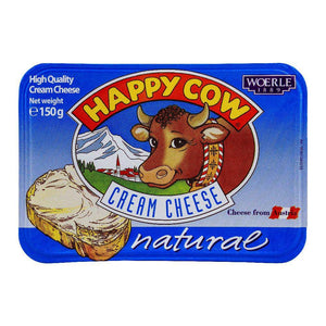Happy Cow Cream Cheese Natural 150g (4636452978773)