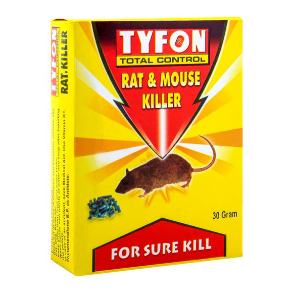 Tyfon Rat & Mouse Killer, 30g