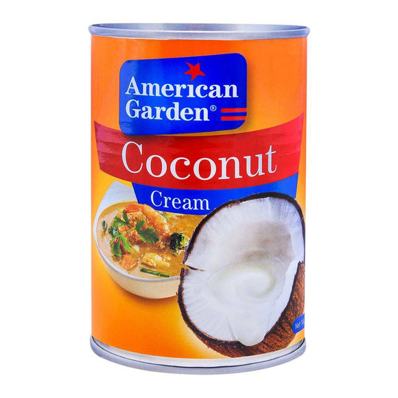 American Garden Coconut Cream 400ml (4656478978133)