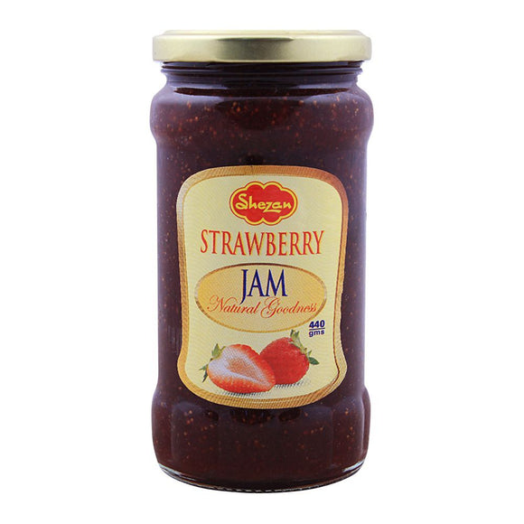 Shezan Strawberry Jam 440g (4616733917269)