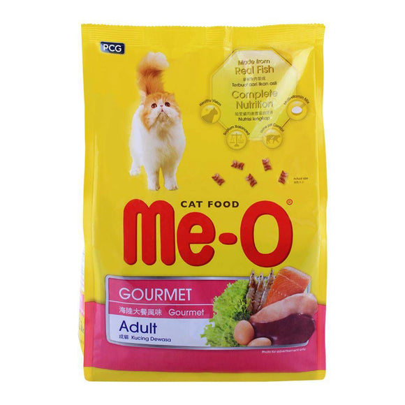 Me-O Gourmet Adult Cat Food 1.1 KG (4634338820181)