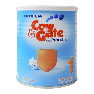 Cow Gate With Pronutra No. 1 Infant Formula 400G Tin (4636180709461)