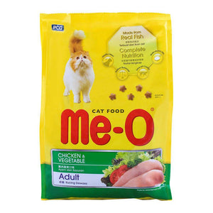 Me-O Adult Chicken & Vegetable Cat Food 1.2 KG