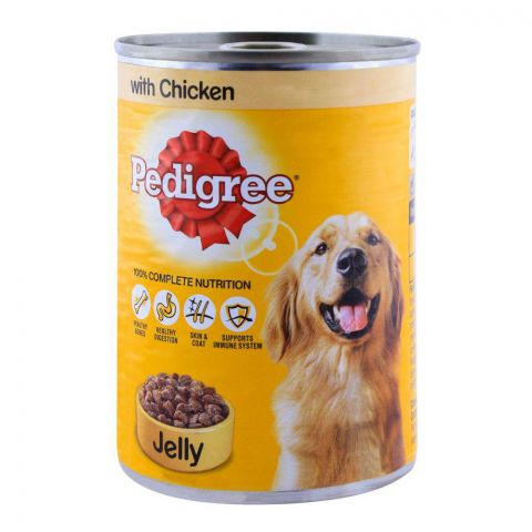 Pedigree Chicken With Jelly Dog Food 385g