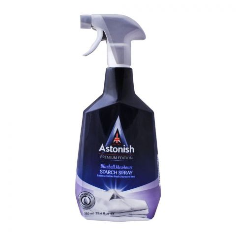 Astonish Starch Spray Trigger, Bluebell Meadows, 750ml