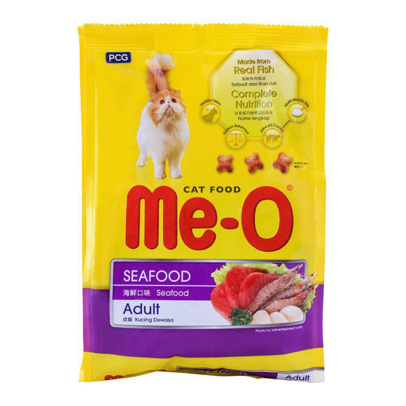 Me-O Adult Seafood Cat Food 450g (4634326073429)