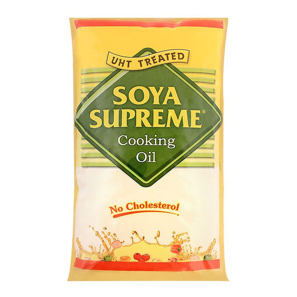 Soya Supreme Cooking Oil Tail Pouch 1 Litre (4792318623829)