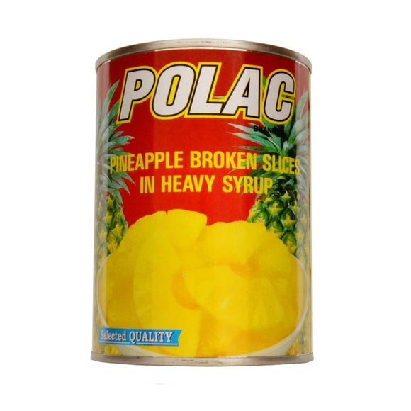 Polac Pineapple Broken Slices Tin 565gm (4611873046613)