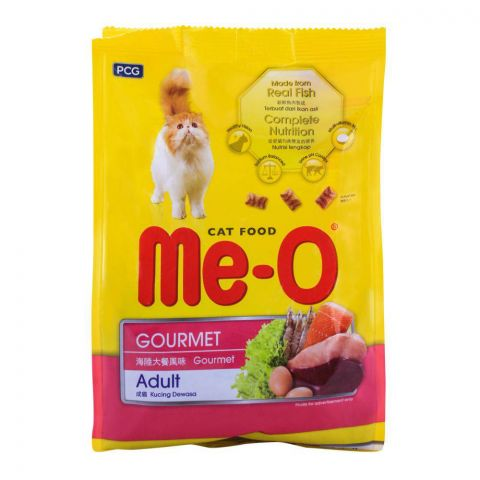 Me-O Adult Gourmet Cat Food 400g (4760531927125)