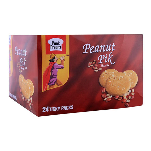 Peek Freans Peanut Pik Biscuit 24 Ticky Packs