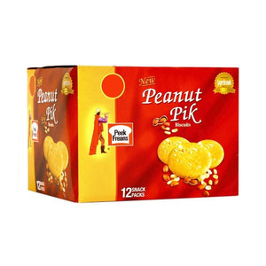 Pack of 12 Peek Freans Peanut Pik Snack pack (4611827073109)