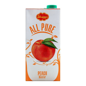 Shezan All Pure Peach Fruit Nectar 1 Liter (4617136799829)