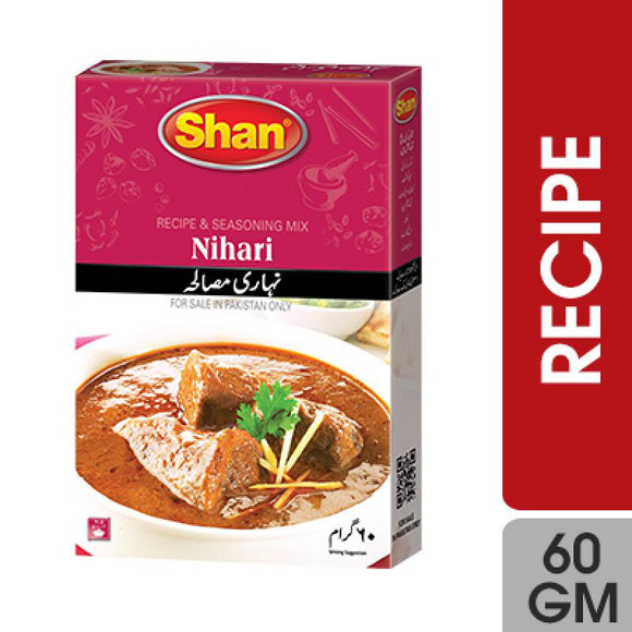 Shan Nihari Recipe Masala 60gm (4707110191189)
