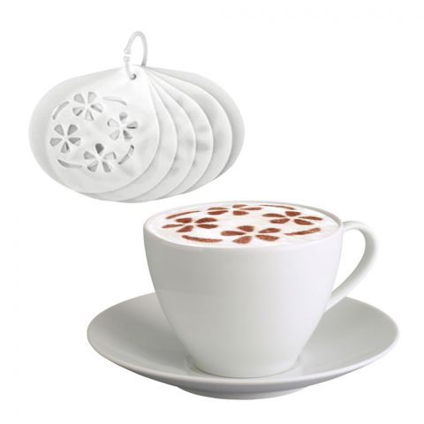 Tescoma Cappuccino Stencils myDRINK 6pcs - 308850 (4769897152597)