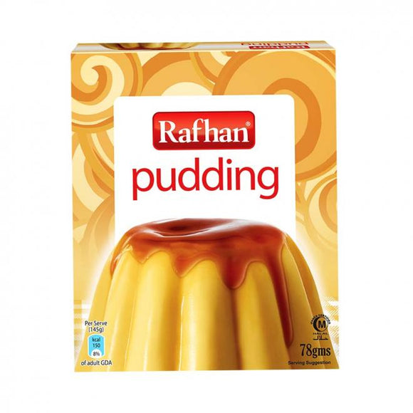 Rafhan Egg Mix Pudding 80 GM (4734840602709)
