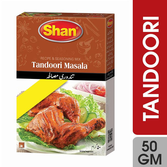 Shan Tandoori Recipe Masala 50gm (4707098198101)