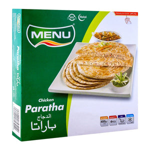 Menu Chicken Paratha, 4 Pieces 480g (4615931396181)