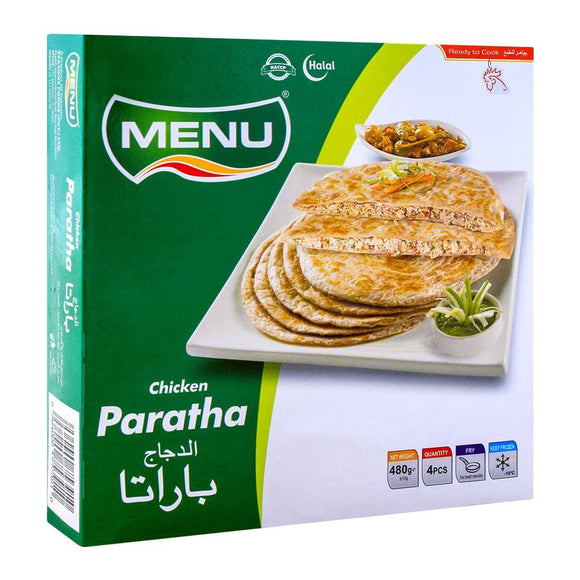Menu Chicken Paratha, 4 Pieces 480g