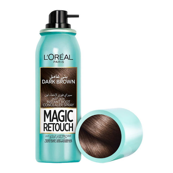 L'Oreal Paris Magic Retouch Instant Root Concealer Spray, Dark Brown, 75ml