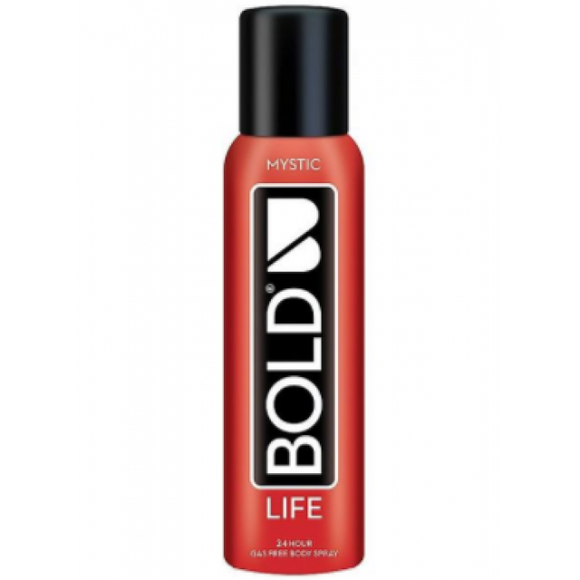 Bold Life Gas Free Body Spray Mystic 120ml (4626070863957)