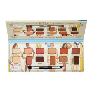 TheBalm Nude Beach Eyeshadow Palette Vol-3 9.6g (IMPORTED) (4761413353557)