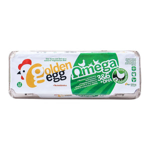 Golden Egg Omega + DHA Eggs 12-Pack (4616766259285)