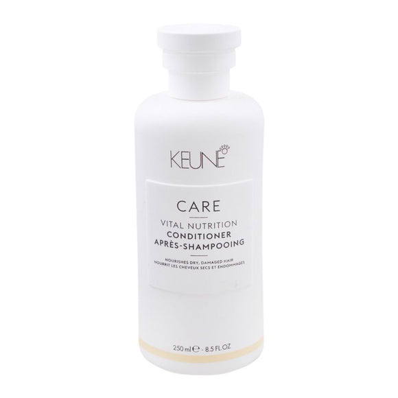 Keune Care Vital Nutrition Conditioner, Dry/Damaged Hair, 250ml