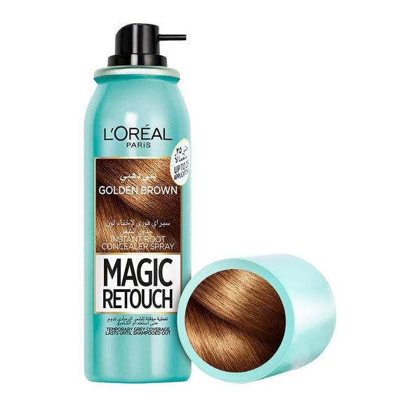 L'Oreal Paris Magic Retouch Instant Root Concealer Spray, Brown, 75ml