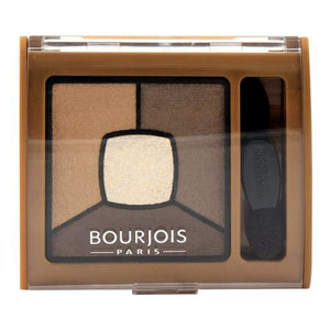 Bourjois Smoky Stories Quad Eyeshadow Palette 06 Upside Brown (IMPORTED) (4761523454037)
