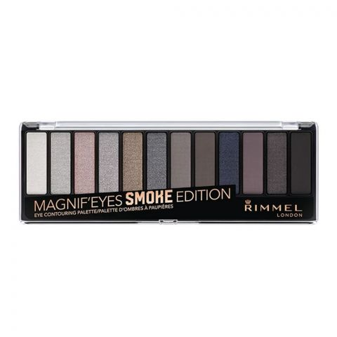 Rimmel Magnif'eyes Smoke Edition Eye Contouring Palette (4761243910229)