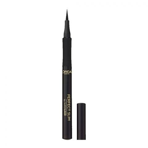 L'Oreal Paris Super Liner Perfect Slim Eyeliner, Intense Black (IMPORTED) (4761407193173)