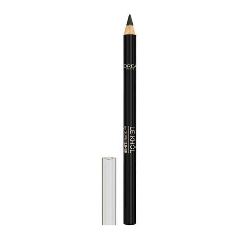 L'Oreal Paris Superliner Le Khol Eyeliner, 101 Midnight Black (IMPORTED) (4761406111829)