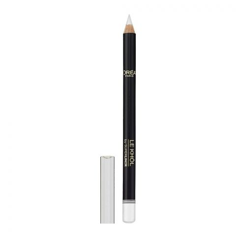 L'Oreal Paris Superliner Le Khol Eyeliner, 120 Immaculate Show (IMPORTED) (4761402343509)