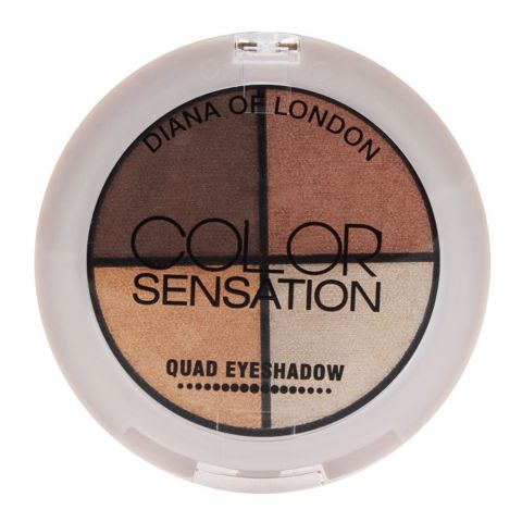 Diana of London Color Sensation Quad Eyeshadow 05 Autumn (IMPORTED) (4761388744789)