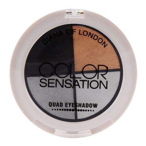 Diana of London Color Sensation Quad Eyeshadow 02 Day Dream (IMPORTED) (4761388056661)
