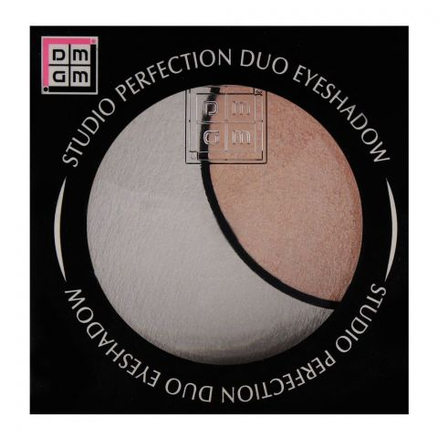DMGM Studio Perfection Duo Eyeshadow 36 Satin White/Pink Orchid (IMPORTED) (4761292243029)